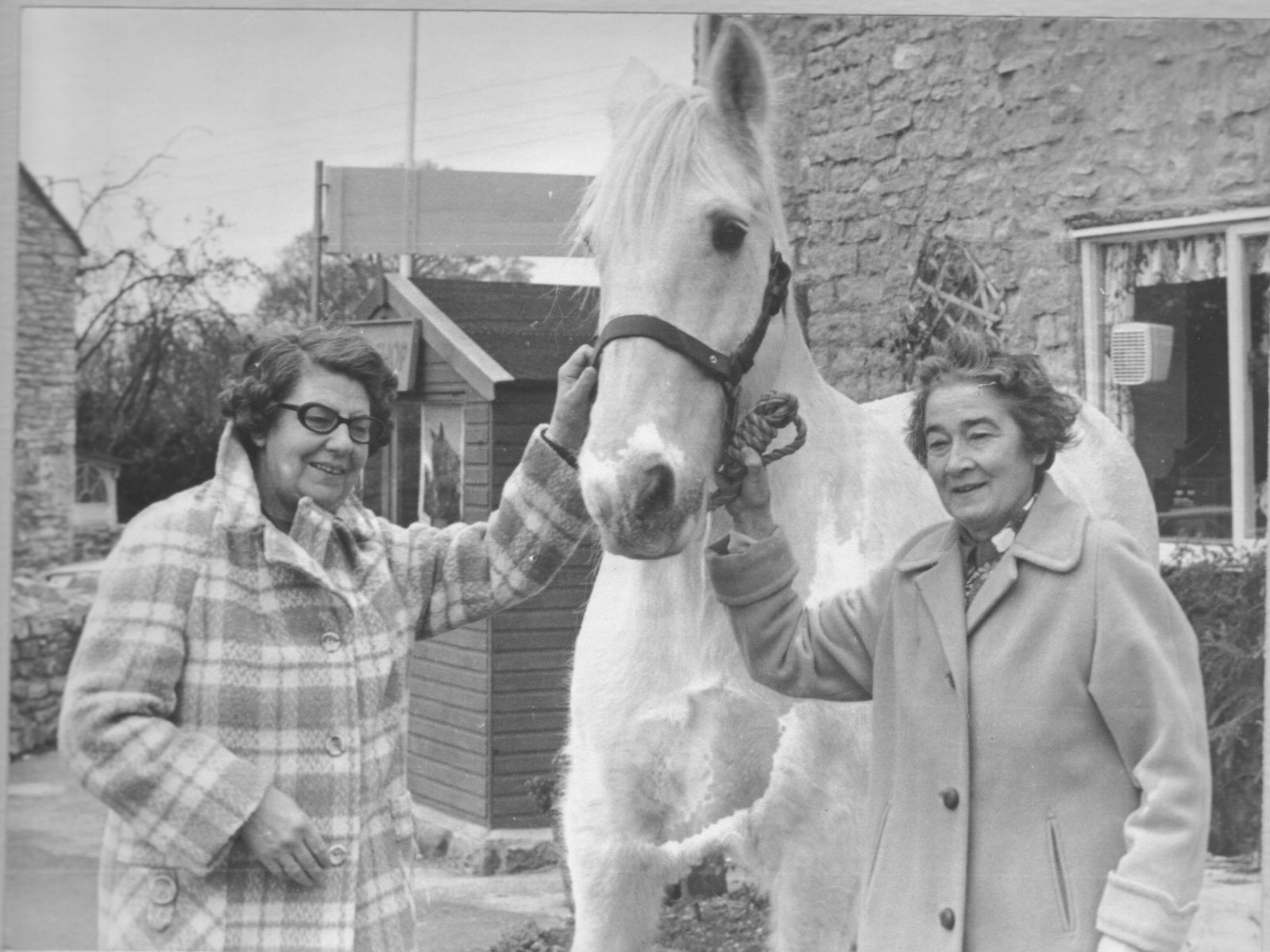 Marjorie Pelling and Madge Checkley