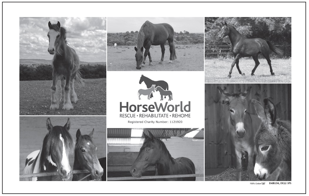HorseWorld Tea Towel